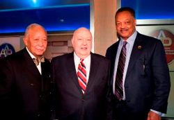 """Jackson called Ailes, ""a tough-minded, caring individual,"" who is ""preparing leaders for the diverse world in which we live."" - TVNewser"