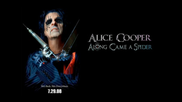 Alice Cooper- Salvation song from his new album Along Came A Spider