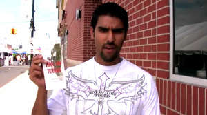 "This is a video of Nabeel Qureshi and David Wood asking questions at Arabfest, Dearborn. The date is June 21st, 2009. There was a booth at the festival which had a banner titled ""Islam: Got Questions?"
