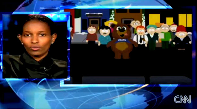 Ayaan Hirsi Ali on CNN: Religion, Violence & South Park.