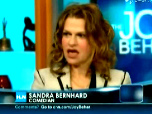 Joy Behar didn't find the need to flee the set after this awful attack on Sarah Palin's daughter.  Liberals just can't help themselves feeding at the pig's trough.