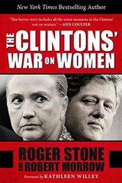 """This is the first book to shed light on the couple's deeply personal violations of the people they crushed in their obsessive quest for power. Along the way, Stone and Morrow reveal the family's darkest secrets, including a Clinton family member's drug rehab treatment that was never reported by the press, Hillary Clinton's unusually close relationship with a top female aide, and a stunning revelation of such impact that it could strip Bill Clinton of his current popularity and derail Hillary's push to be the second Clinton in the White House."" - Amazon"
