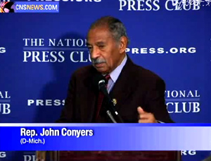 Rep. Conyers Admits ObamaCare a 'Platform' for Socialized Medicine.