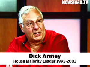 Dick Armey says if you want to see the Ruthlessness of this Democrat Congress, look at what they want to do with seniors [and under the watch of the corrupt AARP.]