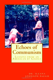 "I wrote this book because, sadly, I see the United States turning more and more towards communism. As misinformed Americans embrace eagerly the total socialist society concept, the nanny state, I hear the ""echo"" of my hard communist life in Romania and the cries for freedom. All the stories of becoming an American citizen, the pride, the pain, the hard work, experiencing good and bad along the way while weaving myself into the fabric of society, being an American longer than I was a Romanian, where I came from, why, and how, had to be told."