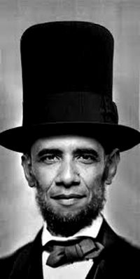 Barack H. Lincoln . .  . the Republicans?