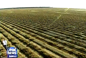 Farmers and residents of Huron, Calif., who are suffering because of recent droughts; controversy over the federal government turning off irrigation pumps to hundreds of farms in the San Fernando Valley.