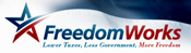 FreedomWorks combines the stature and experience of America's greatest policy entrepreneurs with the grassroots power of hundreds of thousands of volunteer activists all over the Nation.