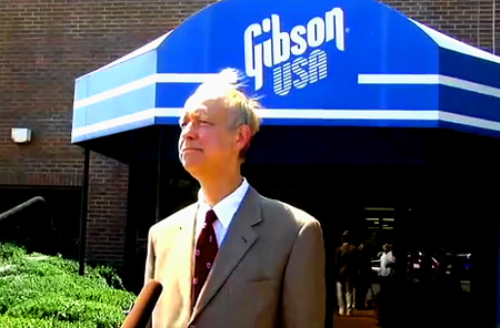 "Henry Juszkiewicz, Chairman and CEO of Gibson Guitar Corp., has responded to the August 24 raid of Gibson facilities in Nashville and Memphis by the Federal Government. In a press release, Juszkiewicz said: ""Gibson is innocent and will fight to protect its rights."