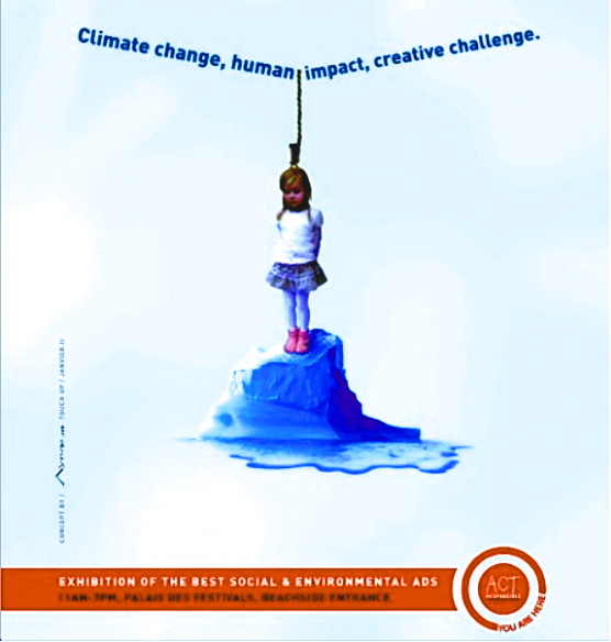 "According to its website, ACT's goal ""is to federate, promote and inspire responsible communication on sustainability, equitable development and social responsibility. ACT shows how advertising professionals from all continents can use their core talent — creativity — to play a significant role in addressing today's crucial world issues."" It appears to be French-based, although it has offices in both Switzerland and the United States."