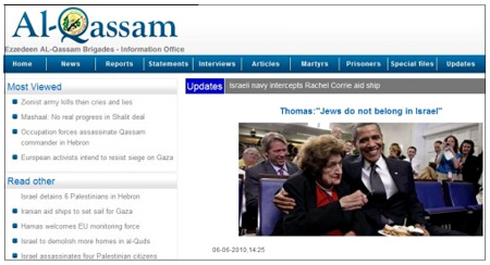 [Progressive] Liberal media matron Helen Thomas has a growing fan club in the Middle East.  - First Things