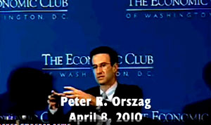 Obama Budget Director Peter Orszag admitted earlier this month that a powerful rationing panel, not doctors, will control healthcare levels under Obamacare.
