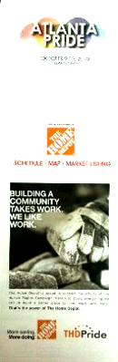 Home Depot pushes against DOMA.