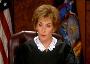Judge Judy - Here's Who You Support With Taxes.