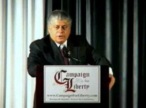 (Part 1 of 3.) - Judge Andrew Napolitano gives a speech from the heart about freedom and from where our rights come. The Judge explains the hard core truth about the Constitution and why we must fight to regain and retain our freedoms. (Courtesy of www.CampaignForLiberty.com. Edited by FreeTheNation.com.)