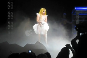 Lady GaGa on SB1070 | The Monster Ball Tour in Phoenix .
