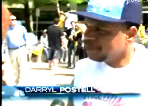 """There aren't a lot of African-American men at these events,"" NBC News reporter Kelly O'Donnell, a white woman, told Darryl Postell, a black man at a Tea Party rally held Thursday in Washington, DC, pressing him, in an exchange she chose to include in her NBC Nightly News story, to address her prejudiced assumptions: ""Have you ever felt uncomfortable?"" Postell rejected her loaded premise that race must divide Americans: ""No, no, these are my people, Americans."""