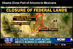 Pinal County Sheriff Paul Babeu: Quite frankly I'm telling you as a sheriff that we don't control that part of the county. My county is larger than the state of Connecticut and we need support from the federal government. It's their job to secure the border and they haven't done it. In fact President Obama suspended the construction of the fence!