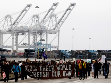 Occupy protesters were successful in disrupting business at several West Coast ports in December. They say they're just getting started.
