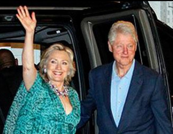 "The media pisses on itself writing, ""Excitement Builds as Clinton Prepares to Tie Knot."""