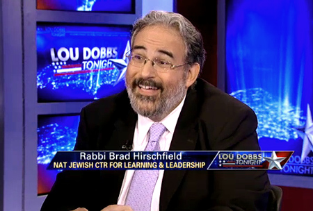 National Jewish Center for Learning and Leadership's Rabbi Brad Hirschfield ...