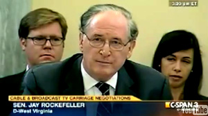 Sen. Rockefeller: FCC Should Take FOX News, MSNBC Off Airwaves.