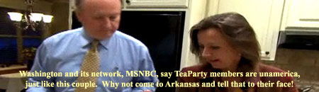 CNN's Randi Kaye profiles a builder from Arkansas who is now the face of the state's Tea Party.