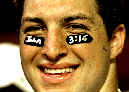 Tebow Time: The three 3:16 references, boffo TV ratings and Lady Gaga love.